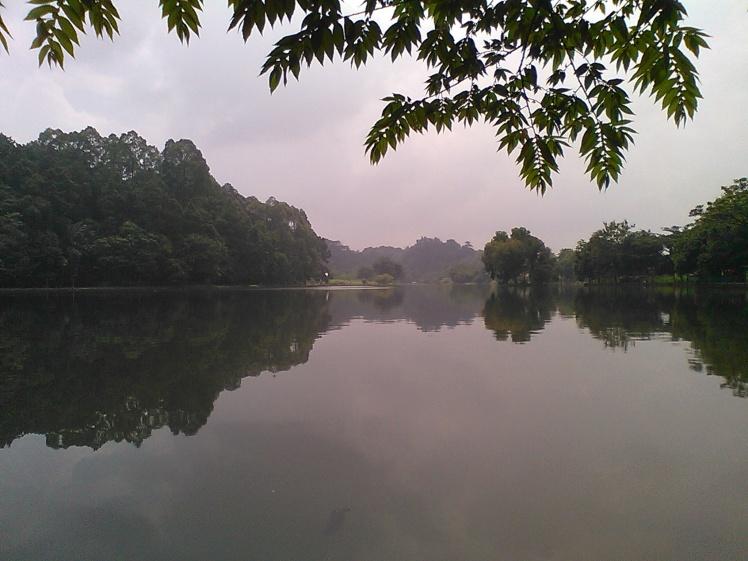 Danau Situ Gede, wisata alami yang murah tapi memukau. Tak jauh dari Terminal Bubulak dan Penangkaran Rusa.