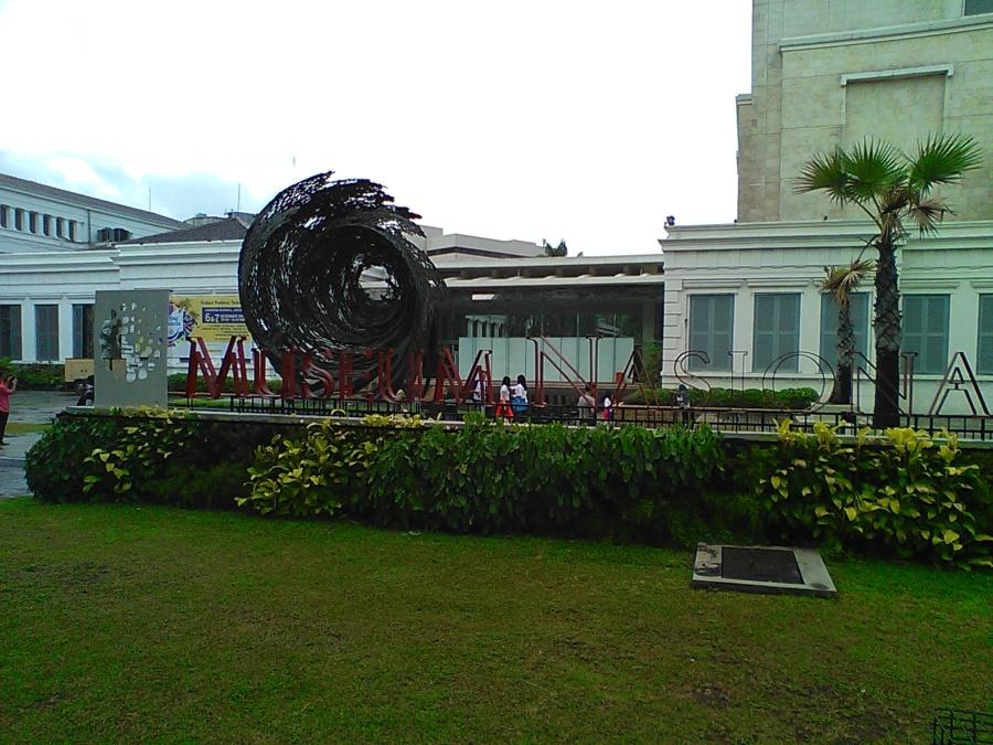 Museum Nasional selepas hujan