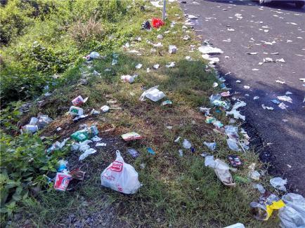 Mengerikannya sampah peninggalan para pemudik