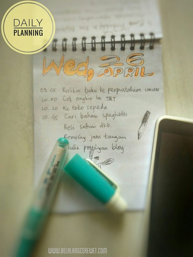 dialy planner