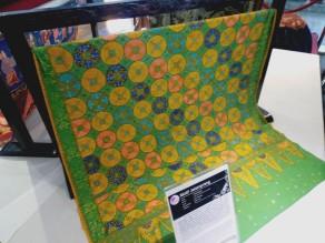 Salah satu motif dalam koleksi Museum Batik Pekalongan