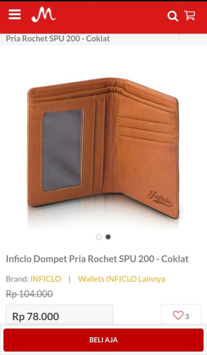 dompet cokelat