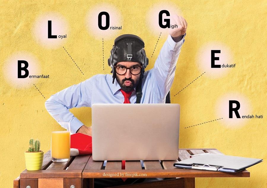 huruf di balik bloger